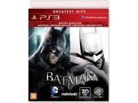Batman Arkham Asylum + Batman Arkham City - PS3