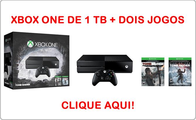 Xbox One 1 TB Tomb Raider