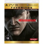 Metal Gear Solid 4 - Guns of The Patriots - PS3