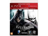 Batman Arkham Asylum + Batman Arkham City - PS3