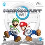 Mario Kart com Volante - Wii