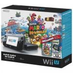 Nintendo Wii U 32GB com Game Super Mario 3D World e Nintendo Land